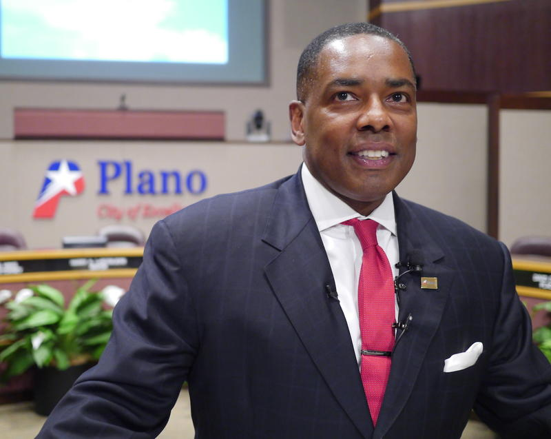 Harry LaRosiliere, the Plano mayor, was all smiles Monday as Toyota confirmed it was moving its U.S. headquarters to the Collin County city.