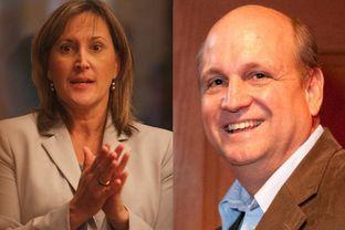 Tomorrow's runoff between Konnie Burton and former state representative Mark Shelton is high stakes.