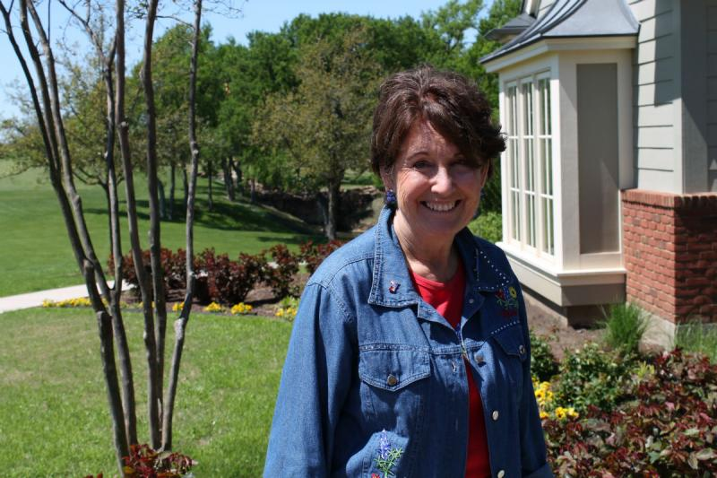 Sandy Anderson is chairwoman of the Ennis Bluebonnet Trails. The Ellis County town is home to more than 40 miles of roadsides covered with wildflowers.