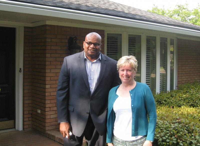 Wilton Hollins and Louisa Meyer are board members of Support Our Public Schools, the nonprofit that's pushing the home-rule proposal.