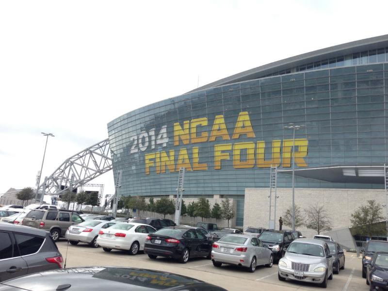 This weekend, about 80,000 folks are expected to fill AT&T Stadium in Arlington for the North Texas Final Four.