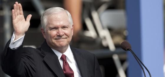 Robert Gates gave the keynote address to Boy Scouts at the 2010 National Scout Jamboree in Virginia.
