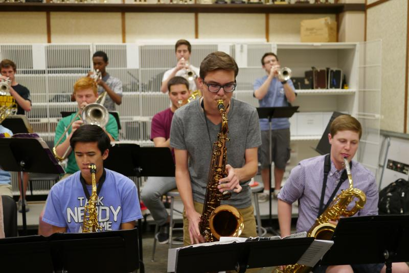 The Carroll Senior High School Jazz Band in Southlake is the only Texas band to be a finalists in the top jazz competition at Lincoln Center.