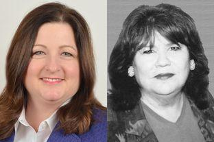 From left: Democratic candidates Susan Motley and Terry Meza are in a runoff for House District 105, which represents Irving, north Grand Prairie and west Dallas.