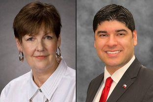 Incumbent Pat Hardy and tea-party challenger Eric Mahroum are in a runoff for a State Board of Education seat that includes Tarrant County.