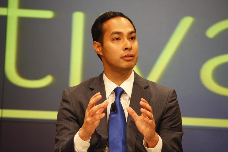 San Antonio Mayor Julián Castro at The Texas Tribune Festival in 2012.