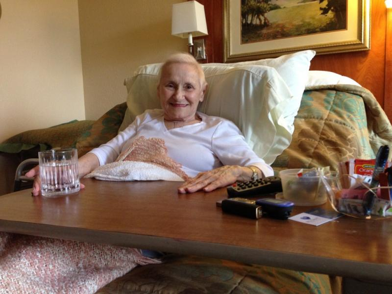 Last October, Jeanette Mariani was an independent 87-year-old – living alone in Dallas and getting around with a walker. Then she broke her hip.