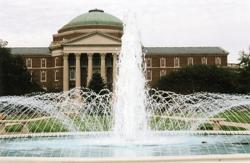 Southern Methodist University's iconic Dallas Hall