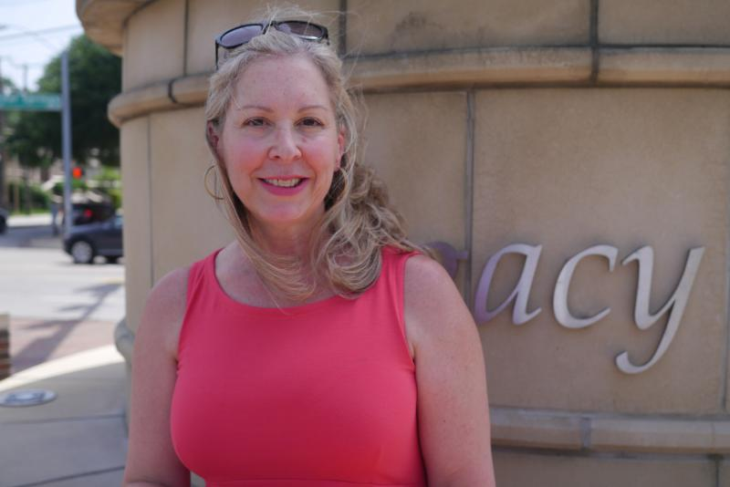Brenda Marks says she takes the tagging personally. She's president of the neighborhood group Oak Lawn Committee, which maintains the Legacy of Love monument in Dallas. The monument was among several landmarks vandalized over the weekend.