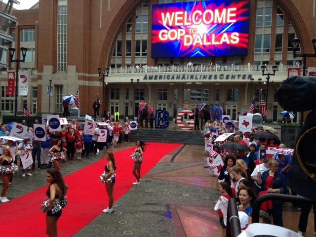 Dallas' red-carpet welcome last month wasn't enough to lure the 2016 Republican National Convention. The party will be in Cleveland.