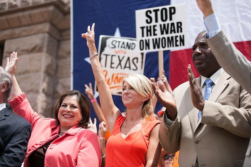 State Sen. Leticia Van de Putte, nominee for lieutenant governor, and State Sen. Wendy Davis, nominee for governor, are at the top of Texas' Democratic ticket.