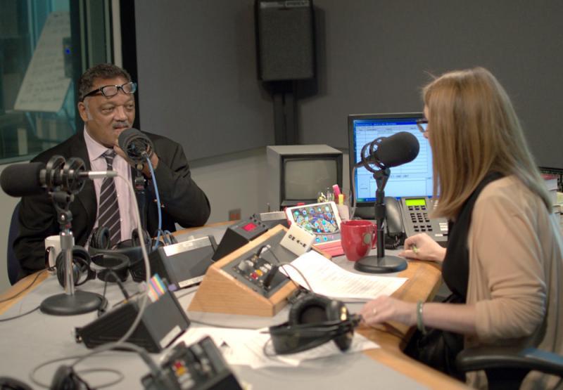 Rev. Jesse Jackson appeared on 'Think' with Krys Boyd on KERA 90.1 FM.
