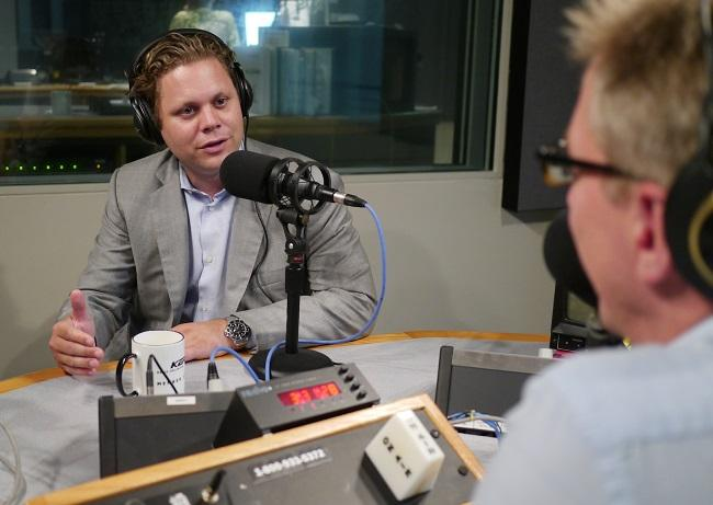 "Trey Bowles, CEO of the Dallas Entrepreneur Center, tells KERA's Rick Holter: ""We talk about the idea of jumping into entrepreneurship as opposed to diving in because if you jump in you may bruise your tailbone but if you dive in you can break your neck."""