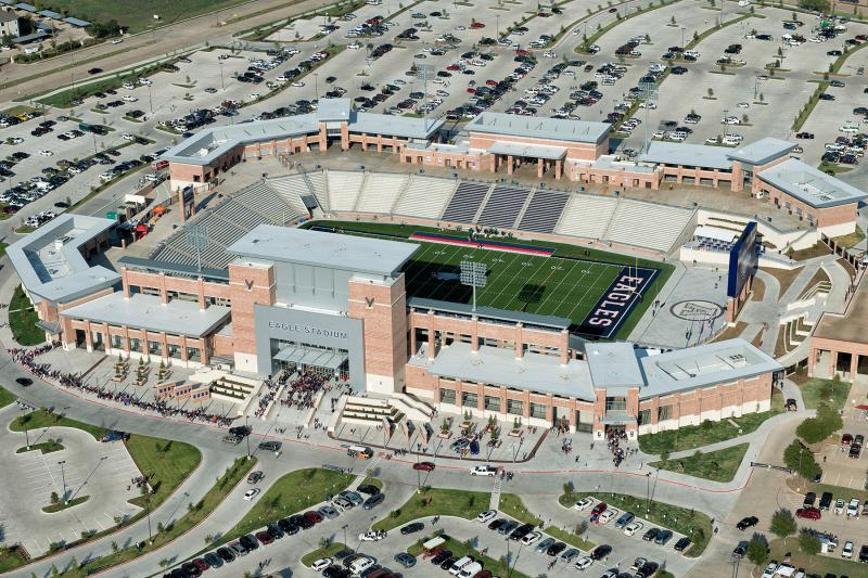 Repairs could begin on Eagle Stadium in July.