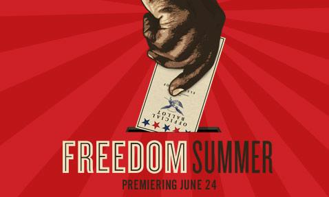 "On June 24, ""Freedom Summer"" premieres on KERA TV. Freedom Summer was a controversial movement in 1964 to increase black voter registration."