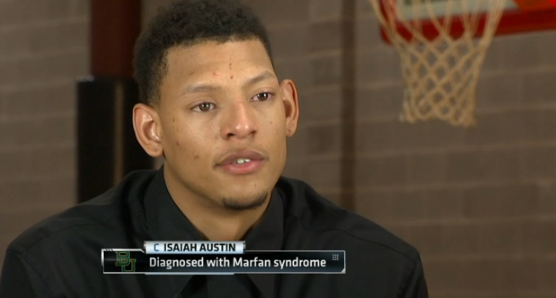 The NBA made Isaiah Austin a ceremonial draft pick Thursday. He's the Baylor basketball star from Arlington who learned just a few days ago that his career is over due to a genetic disorder.