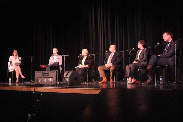 A panel of experts gathered in Azle Wednesday night to talk about what's behind the North Texas earthquake swarm.
