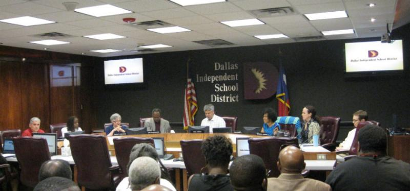 The Dallas ISD school board must pick the 15-member home-rule charter commission by June 23.