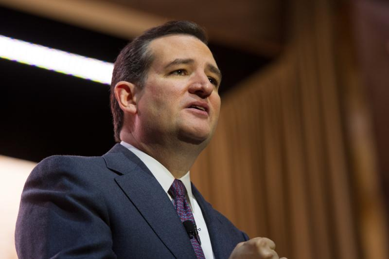 U.S. Sen. Ted Cruz of Texas, pictured at an earlier event, is in Fort Worth to address the Texas Republican Convention.