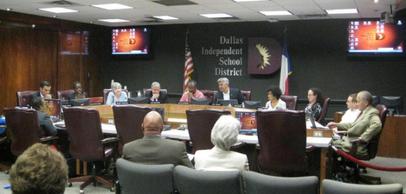 Dallas school trustees, in a rare unanimous vote, picked the remaining 11 home-rule charter commission members Thursday night after only a few hours in closed session. The commission includes 15 members.