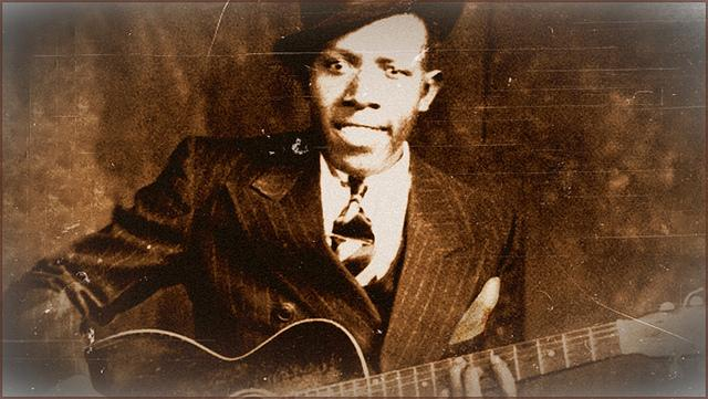 Robert Johnson, prolific blues guitarist, recorded some of his music at 508 Park Avenue in Dallas.