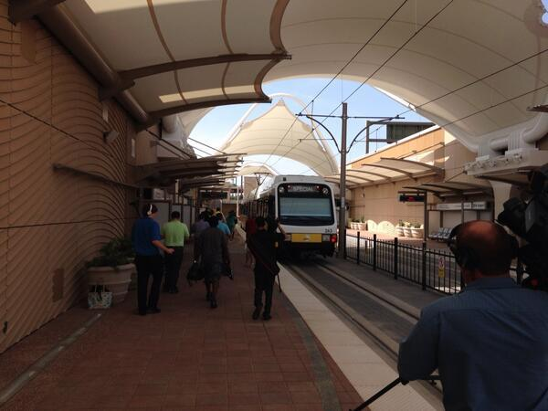DART train service to D/FW International Airport starts Aug. 18.
