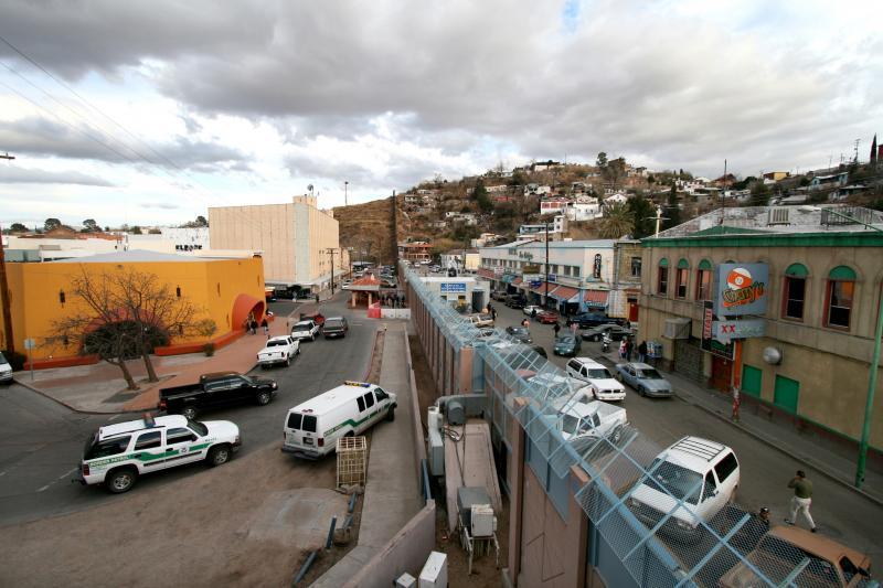 The U.S.-Mexico Border at Nogales