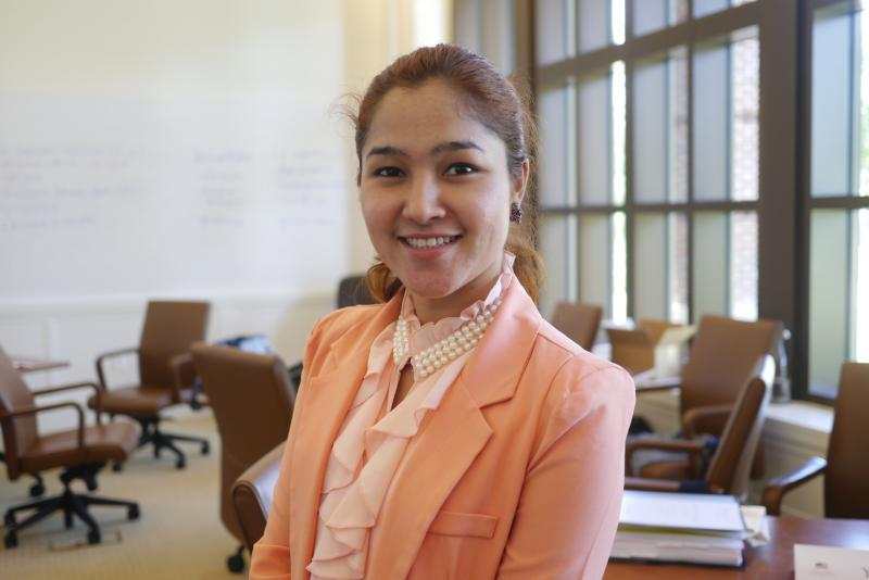 Wai Wai Nu, director of the Women Peace Network of Arakan in Myanmar, formerly known as Burma, wants to help remake her country.