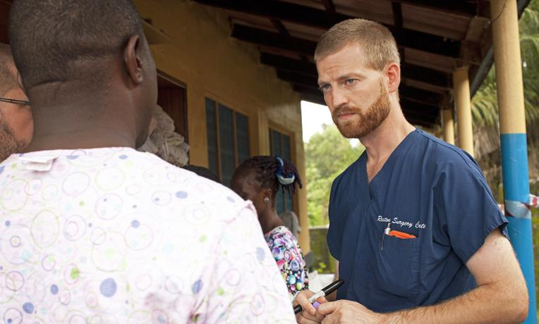 "The aid relief group Samaritan's Purse says Dr. Kent Brantly ""took a slight turn for the worse"" Wednesday night.."
