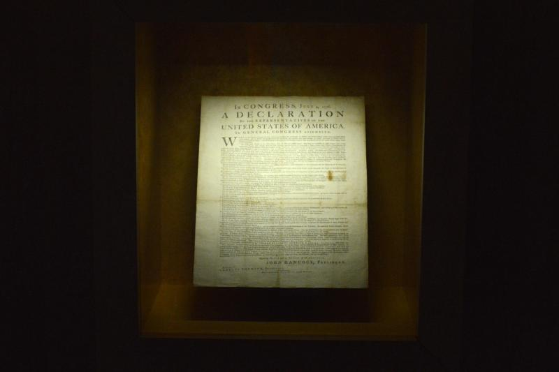 About 200 copies of the Declaration of Independence were printed July 4, 1776. Of the 26 known to exist today, one print resides in North Texas.