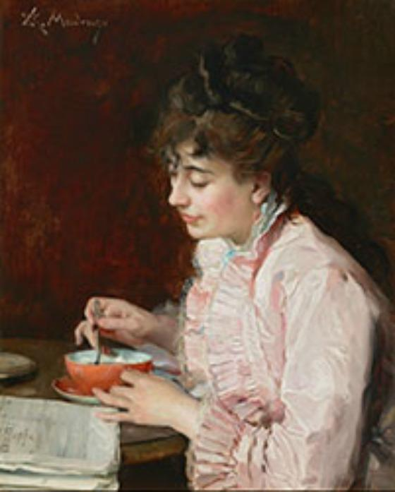 Raimundo de Madrazo y Garreta's Portrait of a Lady, painted in 1890 and 1891. It's one of three acquisitions by the Meadows Museum, on SMU's campus