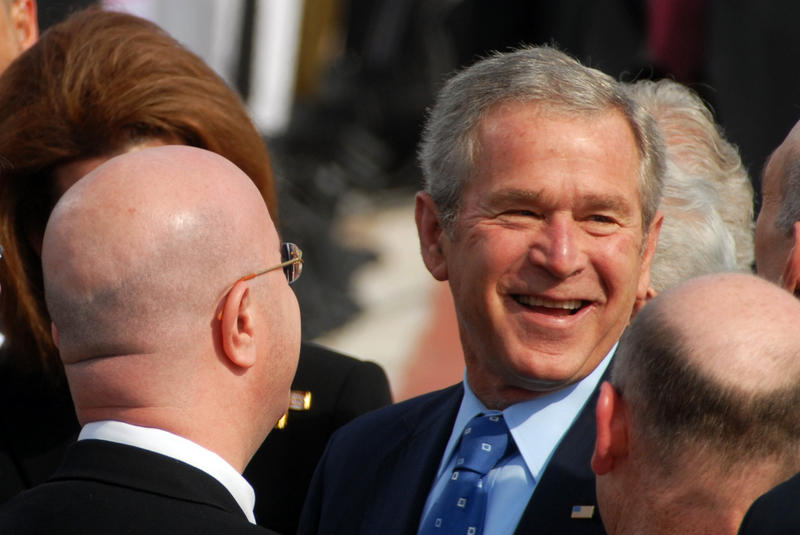 George W. Bush has completed a biography of his dad.