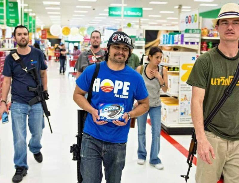 Gun rights supporters have been carrying rifles into Target stores in North Texas and elsewhere.