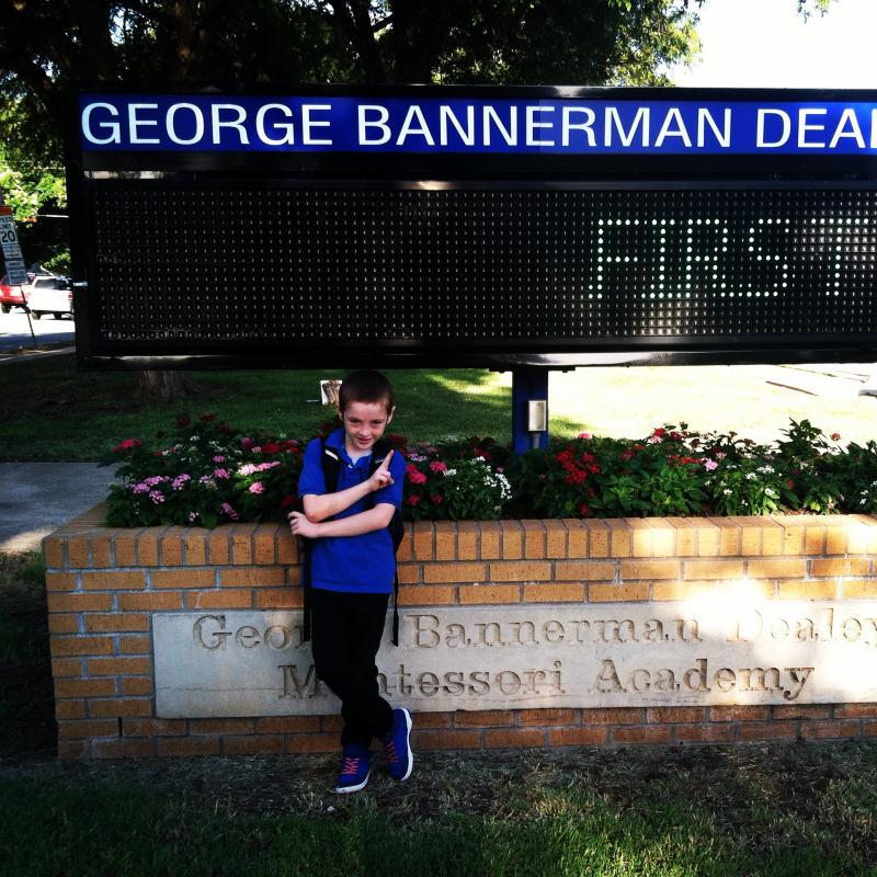 Vincent Fischer is in third grade in Dallas ISD.