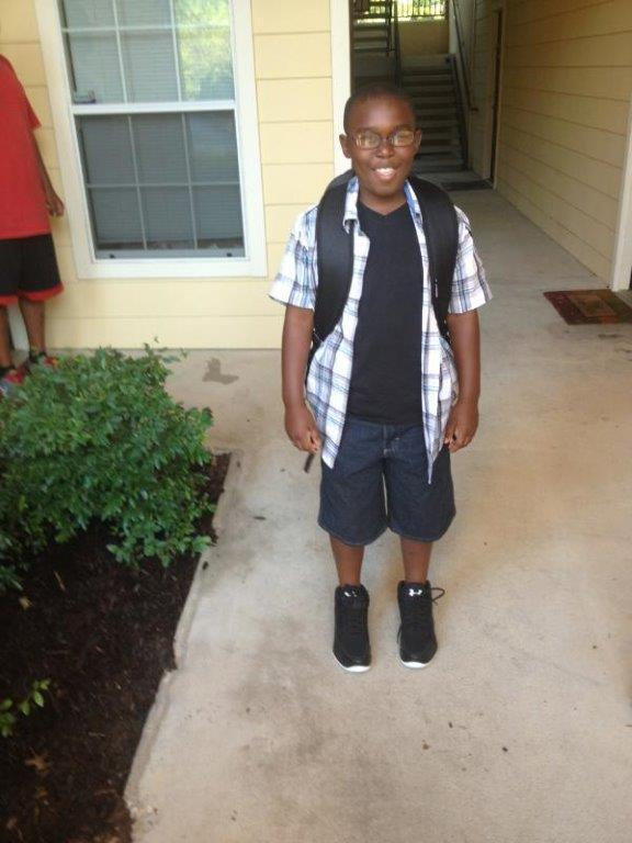 Elijah Lane is in the fourth grade in Duncanville ISD.