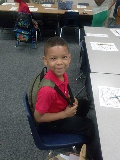 Jayhden Christman is in the first grade in Cedar Hill ISD.