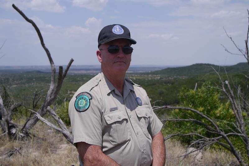 Texas Parks and Wildlife's John Ferguson says he wants to protect the new state park for generations of Texans.