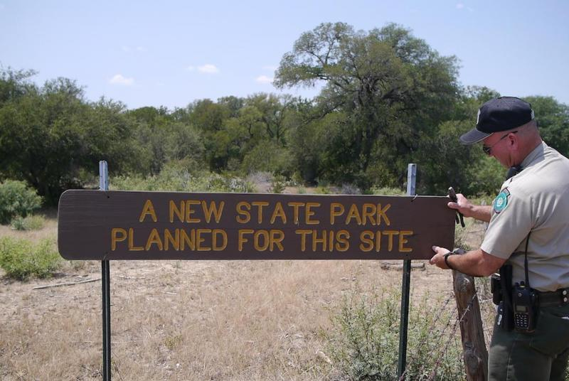 John Ferguson is steward of Texas' newest state park, Palo Pinto Mountains State Park near Strawn, Texas.