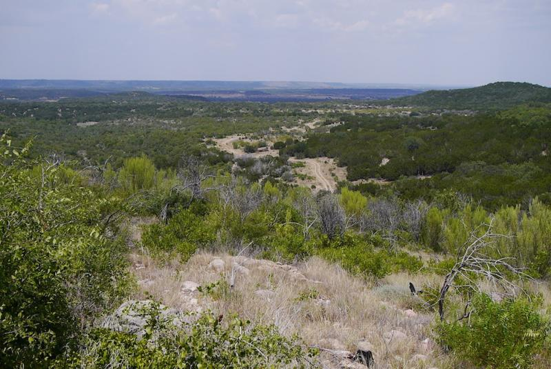 A view from Raptor's Edge in Palo Pinto Mountains State Park.