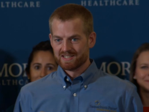Dr. Kent Brantly, the Fort Worth-trained doctor who contracted the Ebola virus in Liberia, spoke publicly for the first time about his recovery from the Ebola virus.