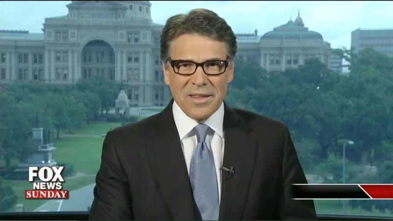 Gov. Rick Perry appeared on 'Fox News Sunday' to defend the veto that led to his indictment.