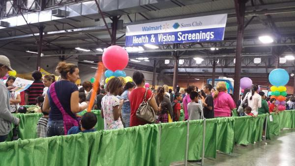 The Dallas mayor's annual Back to School Fair offers free school supplies, as well as health, vision and dental screenings.