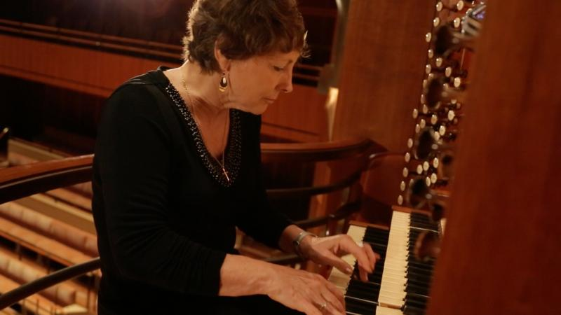 Mary Preston, the Dallas Symphony's resident organist for the past 20 years, hopes that the organ gets put to use more often.