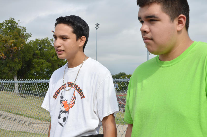 Jacob Hurtado and Edgar Ambriz
