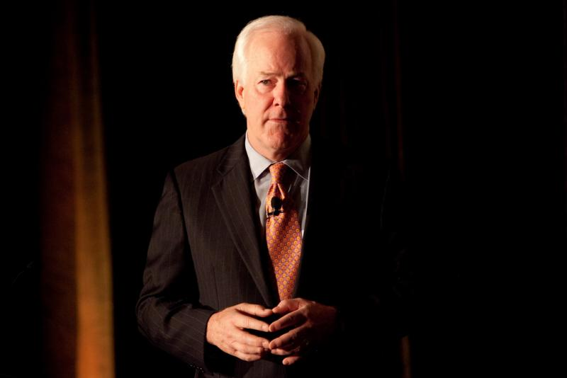 Republican Sen. John Cornyn is seeking his third term.