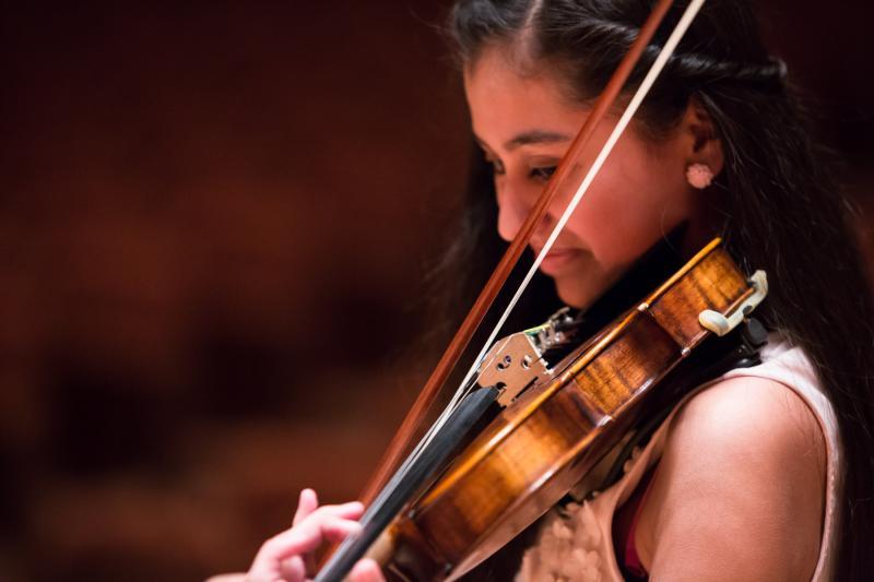 Diana Sofia Zavala, a Young Strings student