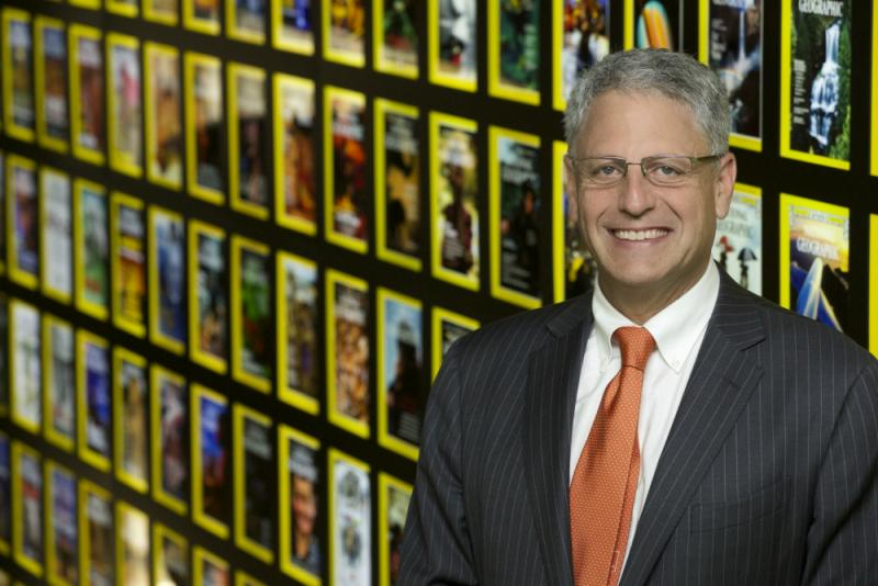 National Geographic CEO Gary Knell.