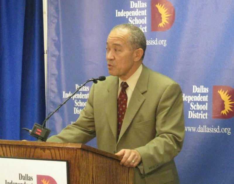 DISD Superintendent Mike Miles