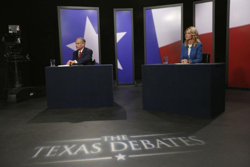 Greg Abbott and Wendy Davis squared off at their last governor's debate, which was held at the KERA studios in Dallas.