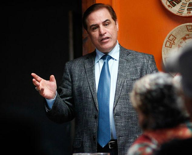 Democrat David Alameel is challenging incumbent Republican John Cornyn for his U.S. Senate seat.